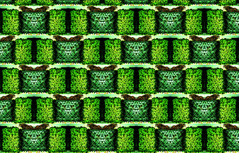 hedging my pets-Maze exits from behind fabric by cloudsong_art on Spoonflower - custom fabric