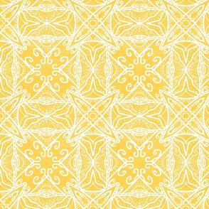 Watercolor Lace Energy, Yellow, Medium