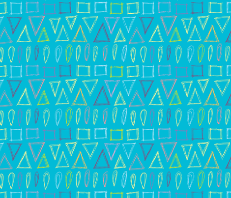 Going to the Beach fabric by clarekettering on Spoonflower - custom fabric