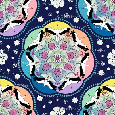 Circle of storks