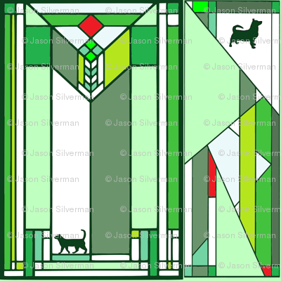 pet grid green