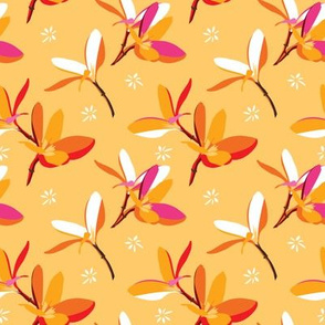 Tropical flower collaborative flower | plumeria1