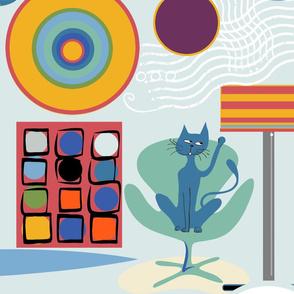 Kandinski's cat