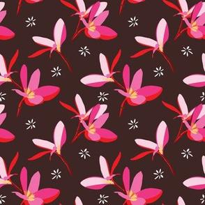 Tropical flower collaborative flower | plumeria 2