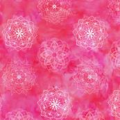 Watercolor Mandala Pink