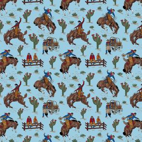 blue cowboys 8x8