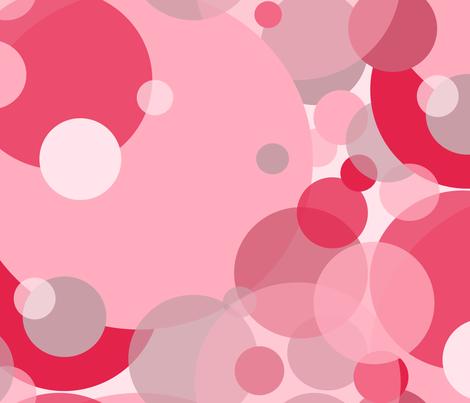 Modern Retro: Bouncy Balls fabric by tallulahdahling on Spoonflower - custom fabric