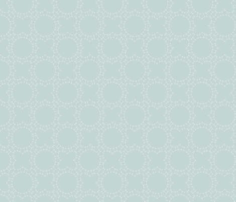 Starlight Lattice: Watery 1+3, Blue Green Latticework fabric by dept_6 on Spoonflower - custom fabric