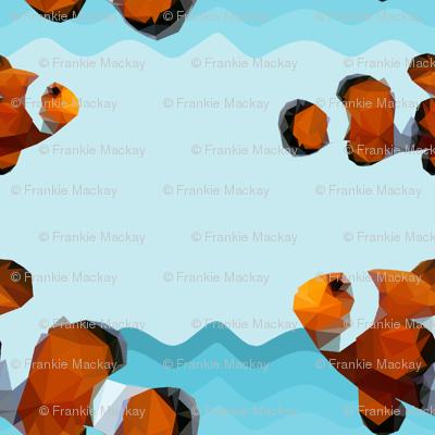 Geometric Clown fish