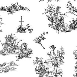 Dungeons & Dragons Toile Pattern