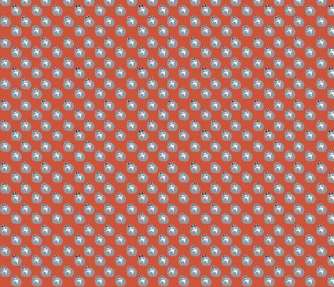 Flying Squirrel fabric by nakayuki on Spoonflower - custom fabric