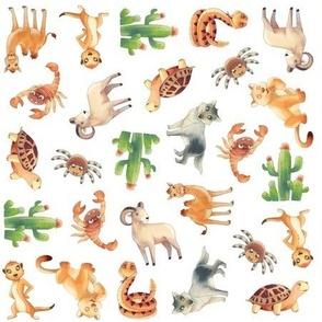 Desert Animal Pattern