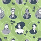 inspiring women - green-grey