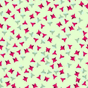 colorful seamless pattern of triangles figures combination