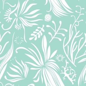 Aqua pattern collabrative | seaweed 2
