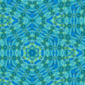 Aqua Mandala throat chakra 3