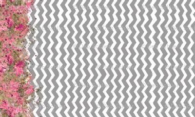 Shabby Chevron Stripes