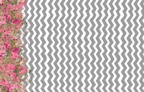 Shabby Chevron Stripes fabric by steadythreadsstudio on Spoonflower - custom fabric