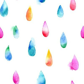 raindrops with bleed