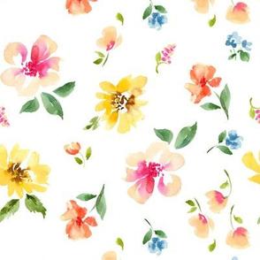 floral small no dots