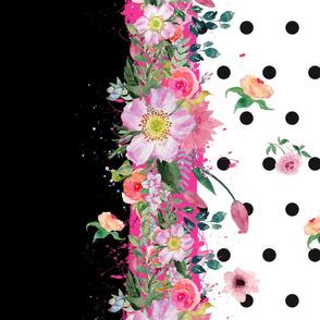 Floral Polka Dots