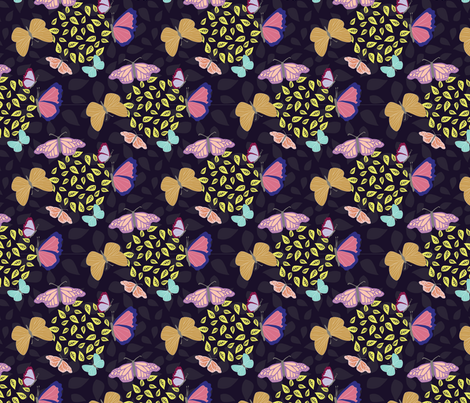 Lovely-Butterflies-Today fabric by tortagialla on Spoonflower - custom fabric