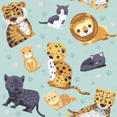 Big Little Cats
