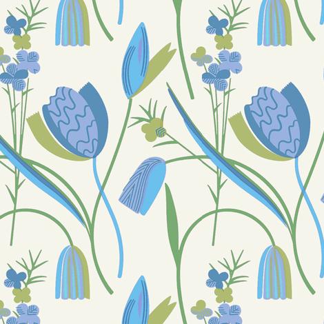 Wildblumen 1d fabric by muhlenkott on Spoonflower - custom fabric