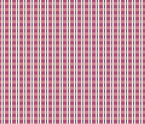 Dragon Fruit Plaid fabric by meredith_watson on Spoonflower - custom fabric