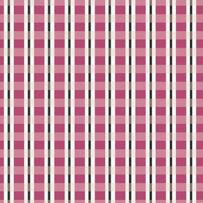 Dragon Fruit Plaid