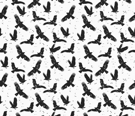 Nevermore fabric by meredith_watson on Spoonflower - custom fabric