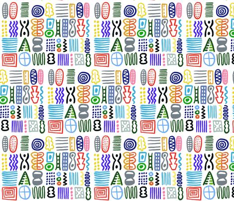 beefab fabric by kimmurton on Spoonflower - custom fabric