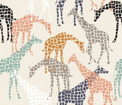 africa africa fabric by booboo_collective on Spoonflower - custom fabric