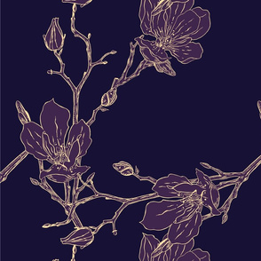 24-03-2018 magnolia pattern PURPLE2