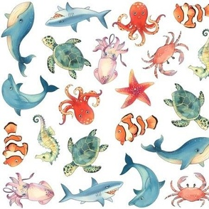 Sea Animal Patterns
