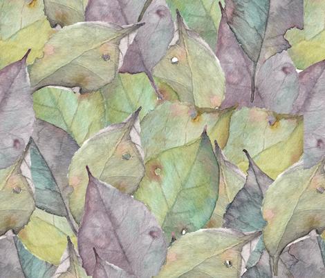 wc leaves 24-03-18 fabric by el_tee on Spoonflower - custom fabric