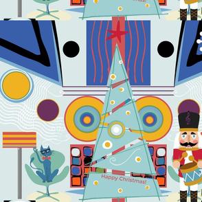 happy christmas Kandinsky