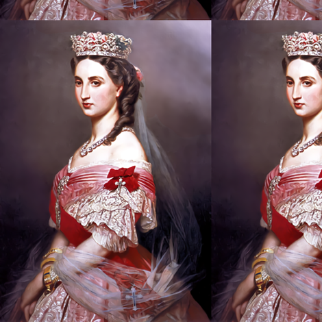 queens princesses crowns tiaras white red pink gowns bridal bride tiaras bows baroque victorian wedding marriage coronation beauty royal roses crucifixes crosses order ringlets diamond necklaces empresses ballgowns rococo royal portraits beautiful lady wo fabric by raveneve on Spoonflower - custom fabric
