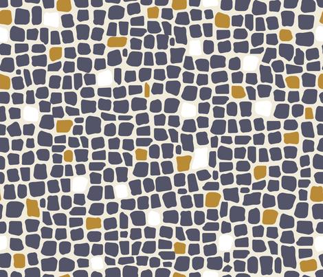 africa africa giraffe print - blend 2 fabric by booboo_collective on Spoonflower - custom fabric