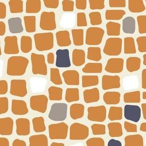 africa africa giraffe print - blend 3