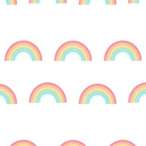 rainbow fabric cute nursery kids decor light