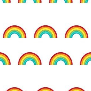 rainbow fabric cute nursery kids decor