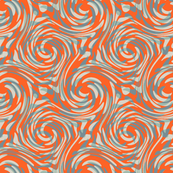 Tropicana orange  swirly