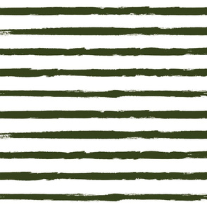 Forest Green Painted Stripe