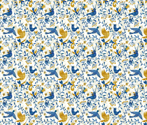 whimsicalwings fabric by gaiamarfurt on Spoonflower - custom fabric