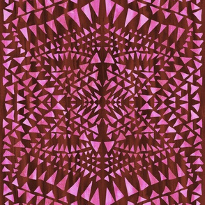 triangle tribal fruit punch