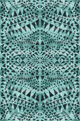 triangle tribal moss