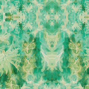 Dream Butterfly Kaleidascope - Pale Aqua