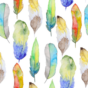 feather water pattern19