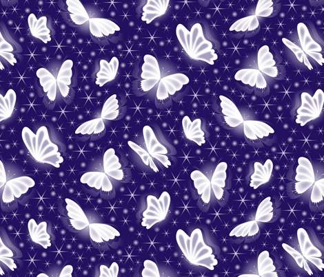 Gossamer Wings fabric by jjtrends on Spoonflower - custom fabric